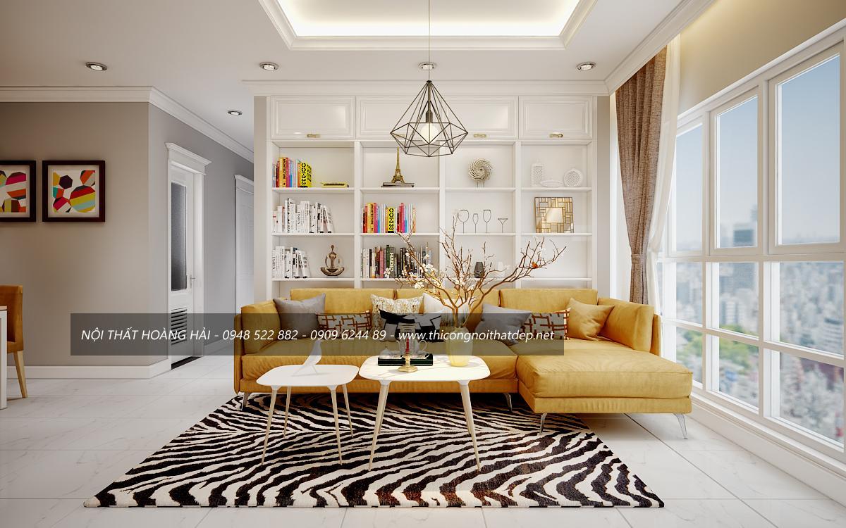Thiết kế nội thất chung cư giá rẻ tại hà nội