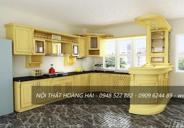 Có Nên Lựa Chọn Tủ Bếp Gỗ Tràm Bông Vàng Cho Không Gian Bếp Nhà Bạn?