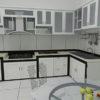 Tủ Bếp Nhôm Vân Gỗ Giá Tiền Và Những Điều Nên Biết.
