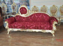 Ghế sofa dài phong cách tân cổ điển