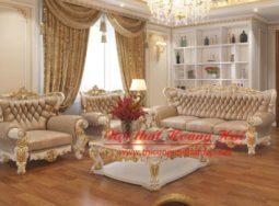 Bộ sofa phong cách tân cổ điển