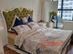 Bộ giường ngủ nội thất tân cổ điển tại Hà Nội