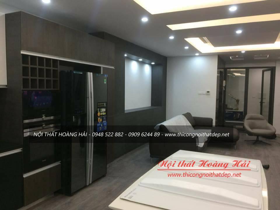 Thi công nội thất biệt thự nhà anh Hùng tại Phú Thọ