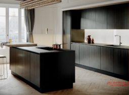 Mẫu tủ bếp phong cách hiện đại