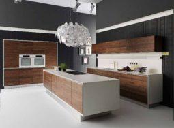Mẫu thiết kế tủ bếp Laminate dành cho chung cư cực đẹp