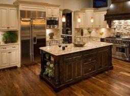 Top 5 mẫu thiết kế tủ bếp gỗ óc chó đẹp nhất năm nay