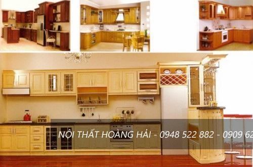 Tủ bếp cho gian bếp có diện tích nhỏ