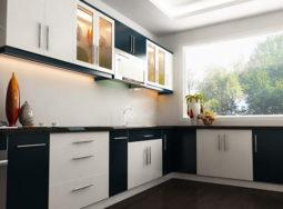 Mẫu thiết kế tủ bếp veneer đẹp tại Thái Bình