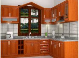 Những mẫu tủ bếp gỗ giáng Hương nhập khẩu đẹp