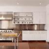 Tủ bếp inox mang vẻ đẹp sang trọng, hiện đại