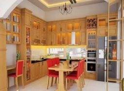 Thiết kế tủ bêp MFC giá rẻ tại Hà Nội