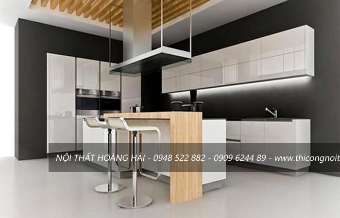 giá tủ bếp gỗ acrylic
