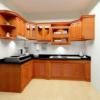 Báo giá tủ bếp gỗ gõ đỏ