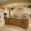 Thiết kế tủ bếp gỗ giáng hương sang trọng
