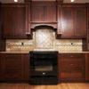 Nhận thi công tủ bếp gỗ gõ đỏ