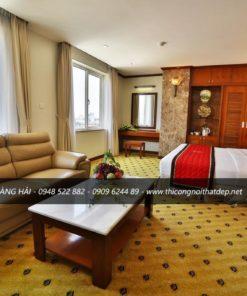 Mẫu thiết kế nội thất khách sạn đẹp