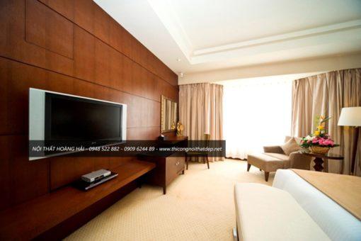 Thiết kế phòng ngủ khách sạn rẻ đẹp