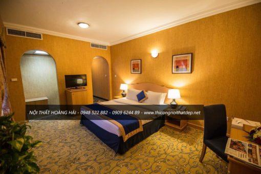 Thiết kế phòng ngủ khách sạn giá rẻ