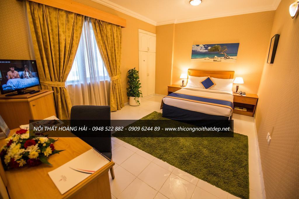 Thiết kễ nội thất phòng ngủ khách sạn