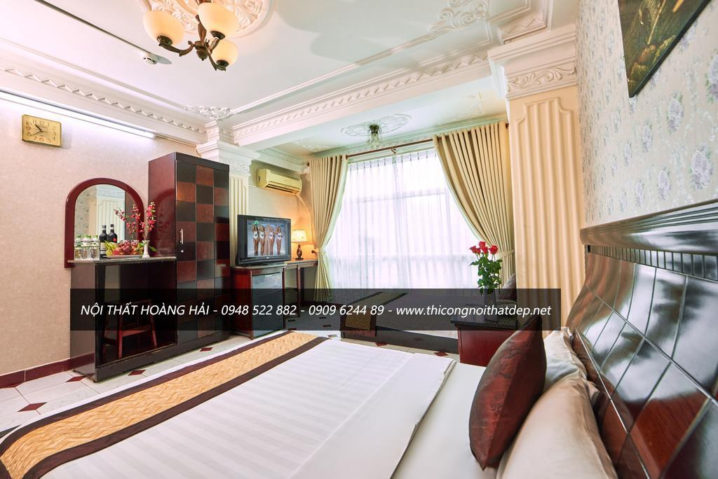 Mẫu thiết kế nội thất phòng ngủ khách sạn đẹp