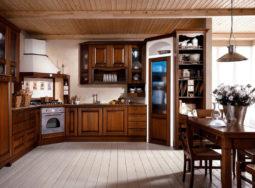 Những mẫu tủ bếp gỗ sồi mỹ nhập khẩu cực đẹp
