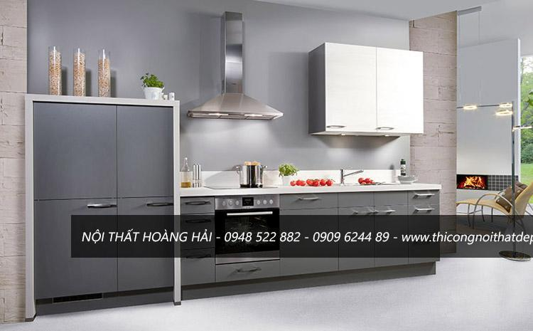 tủ bếp nhôm kín cao cấp