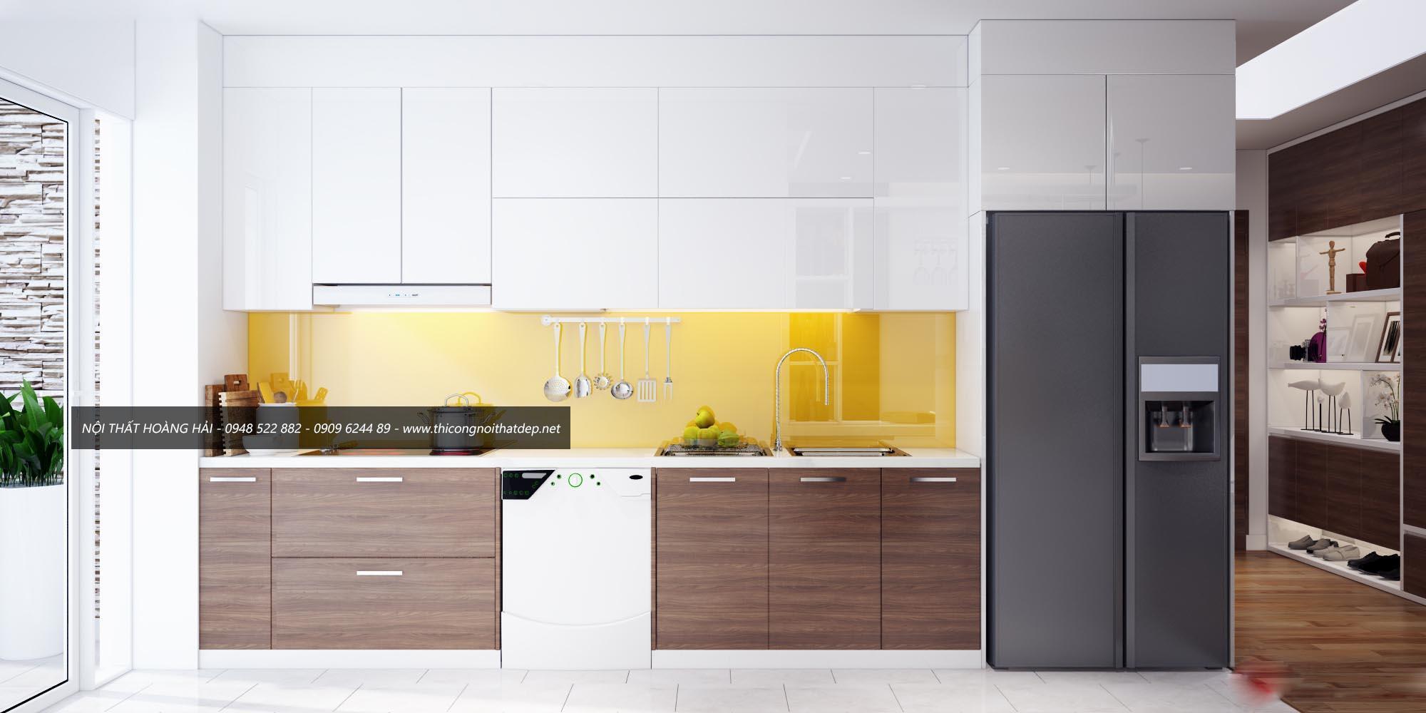 Chọn tủ bếp có màu sắc phù hợp