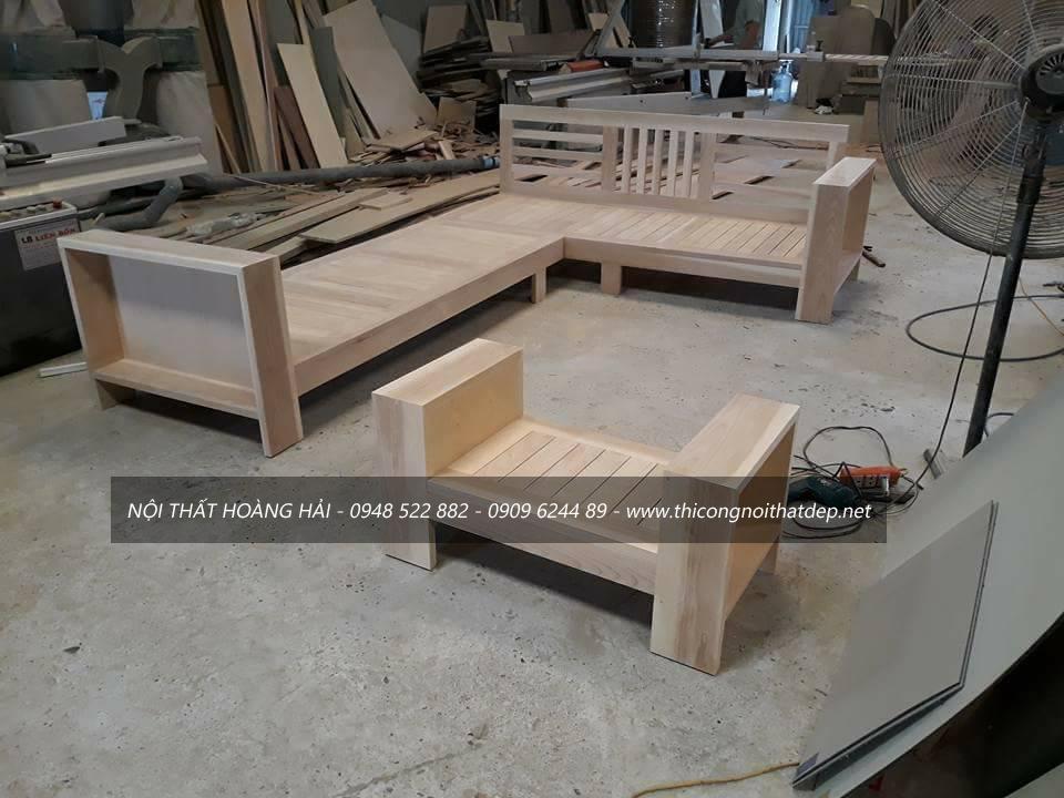 Hình ảnh xưởng gỗ óc chó Mộc Chuẩn tại Hà Nội gọn gàng rộng rãi