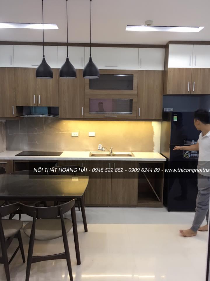 Tủ bếp gỗ tự nhiên tại Thanh Hóa