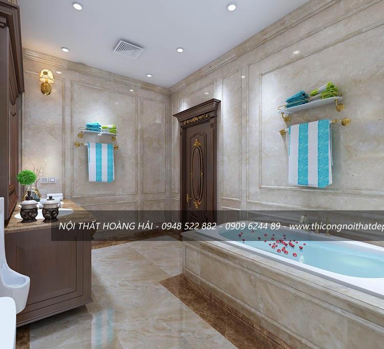 Nội thất phòng tắm biệt thự đẹp