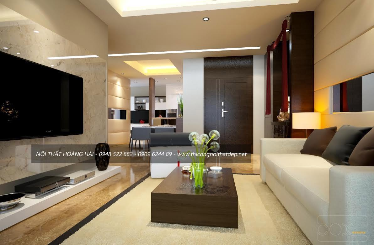 Thiết kế nội thất chung cư Maradin Garden 2