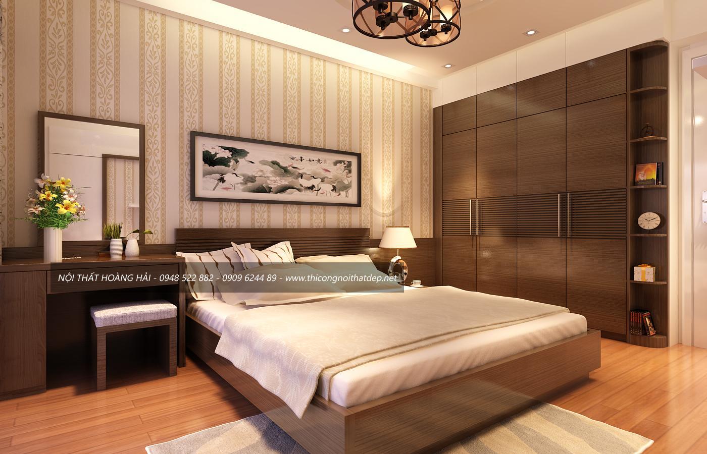 nội thất phòng ngủ gỗ óc chó 2