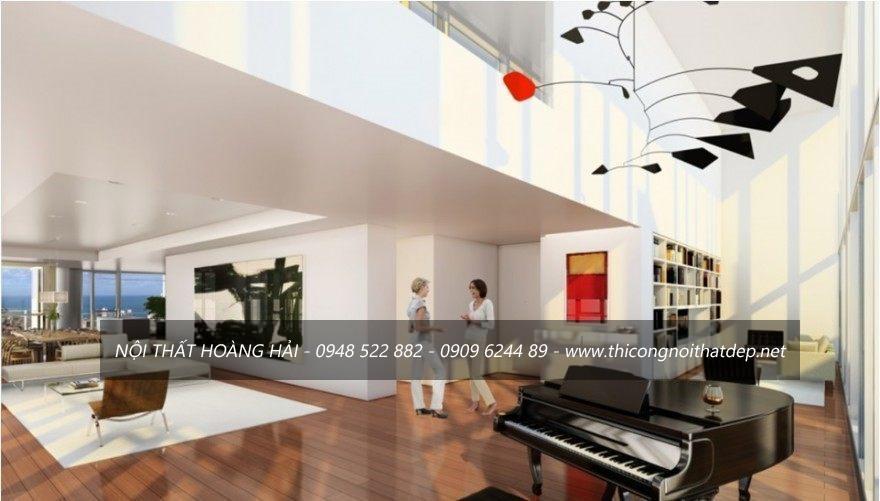 thiết kế nội thất chung cư hợp phong thủy