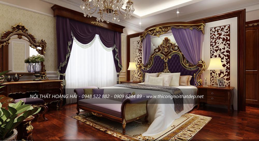 Thiết kế nội thất biệt thự nhà chị Vân ở Hải Phòng