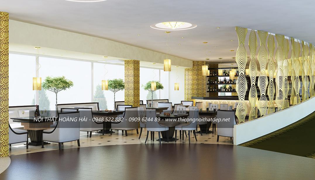thiết kế nội thất nhà hàng hợp phong thủy và hút tài lộc