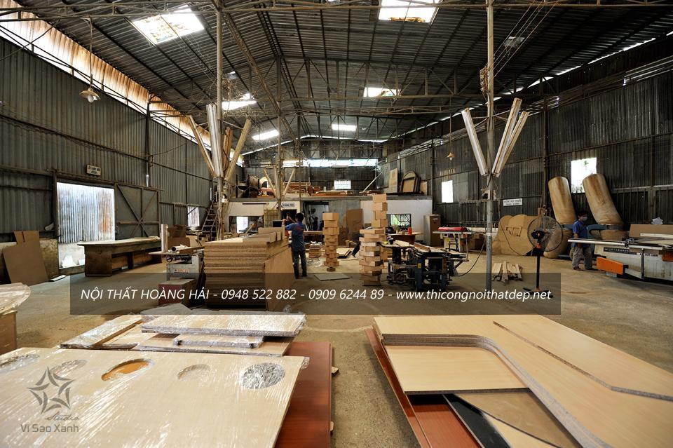 Xưởng sản xuất nội thất gỗ tự nhiên tại TP. Hồ Chí Minh