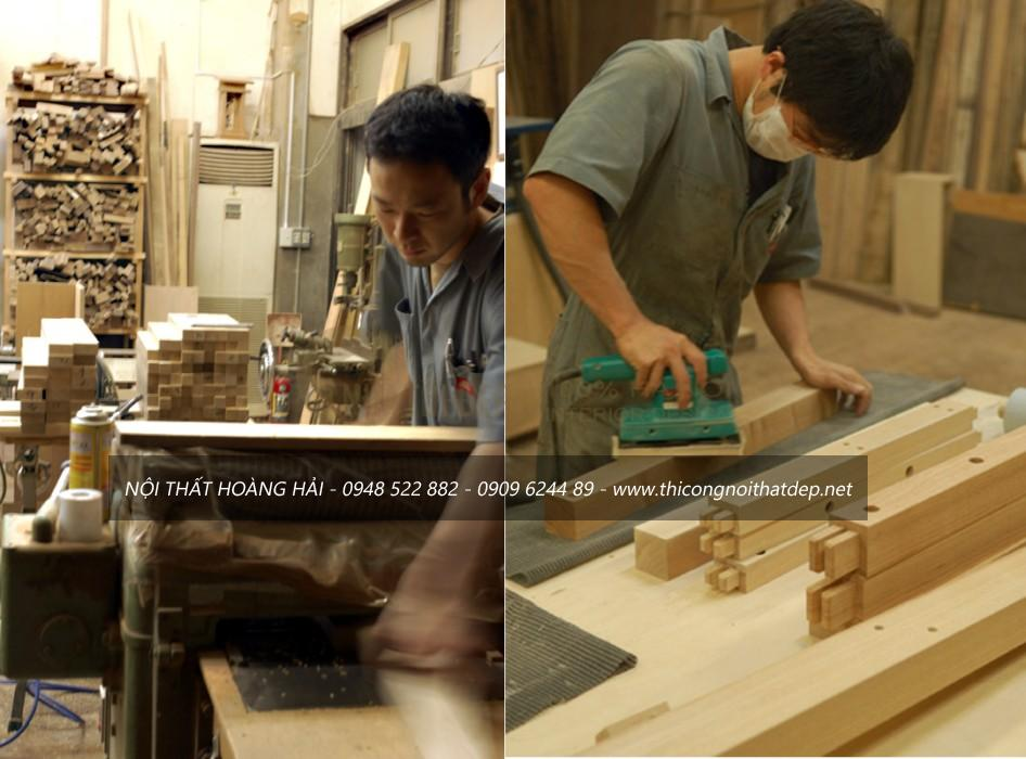 xưởng sản xuất gỗ gõ đỏ tại Hà Nội