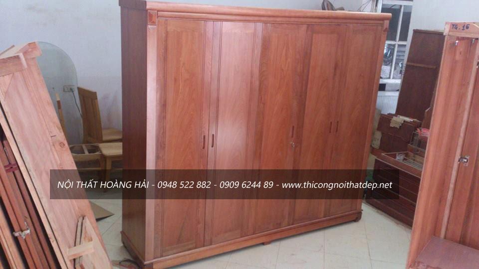cơ sở bán tủ quần áo gỗ giáng hương