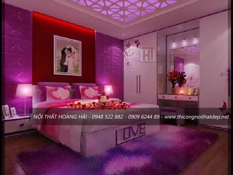 trang trí phòng ngủ cho vợ chồng mới cưới
