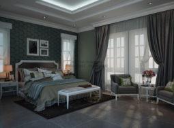 Thi công nội thất phòng ngủ biệt thự nhà anh Minh – Q7, Tp HCM