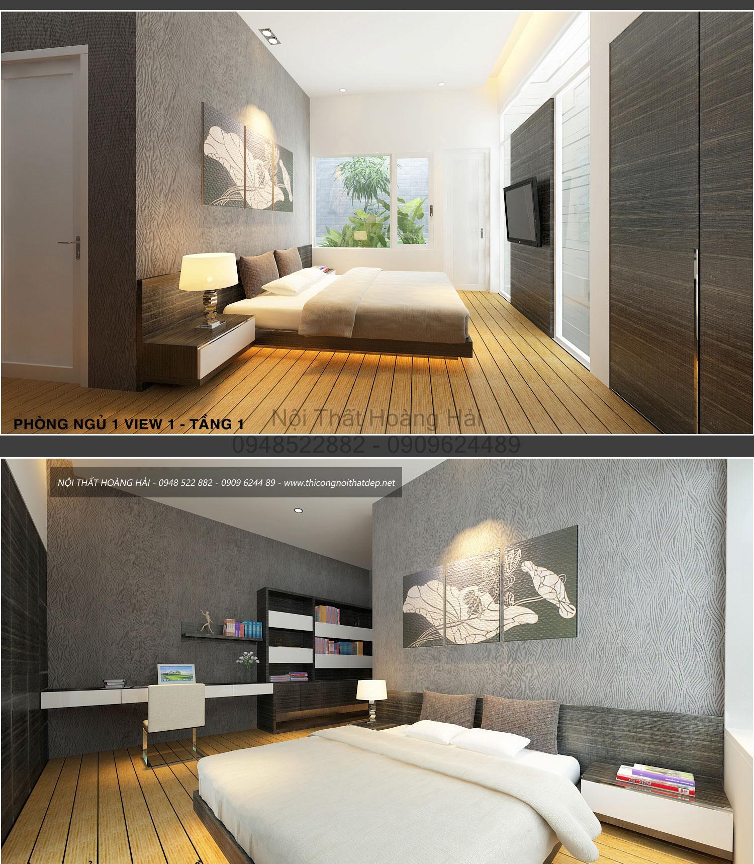 nội thất phòng ngủ nhà anh Bình 1