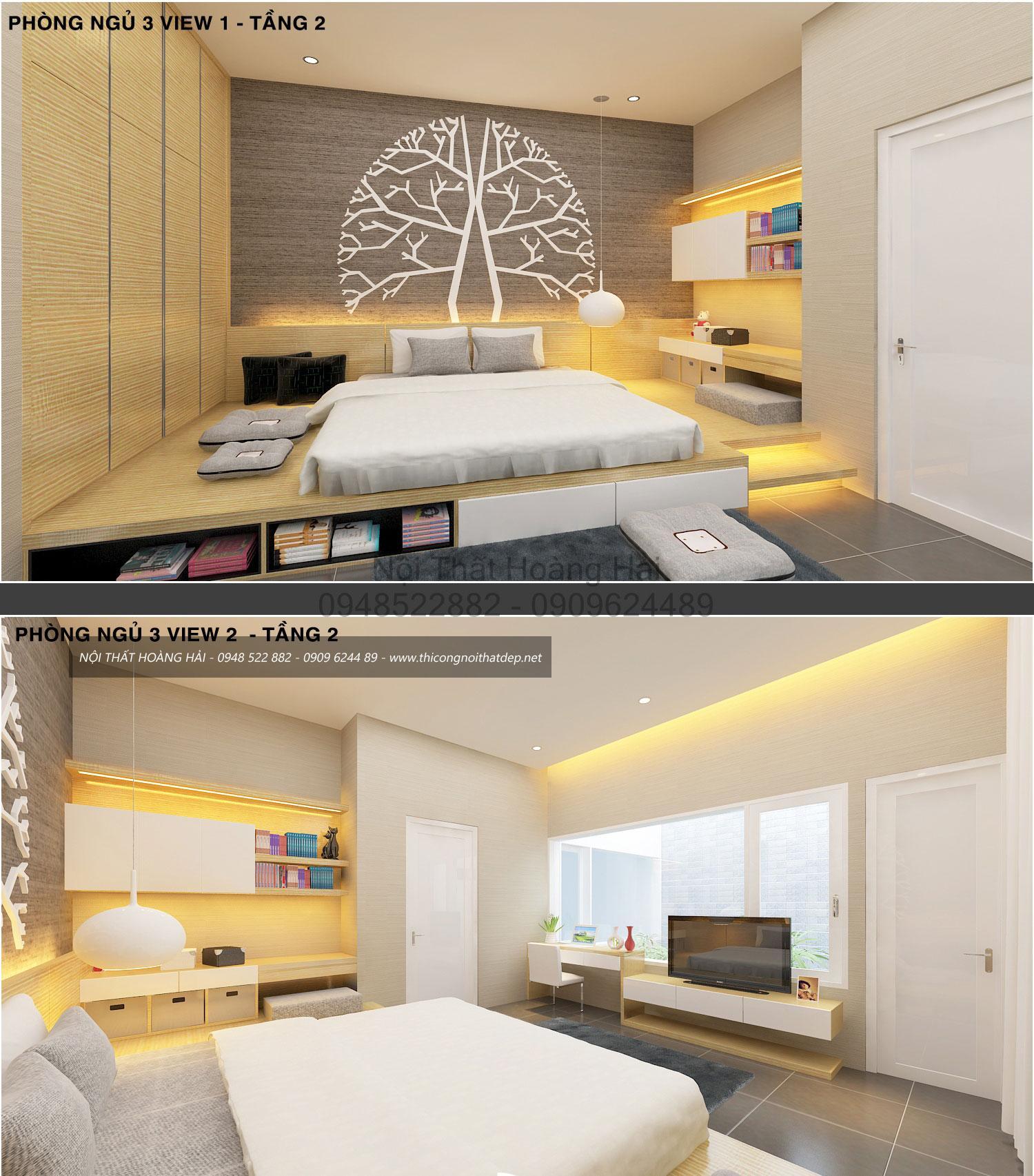 nội thất phòng ngủ nhà anh Bình 3
