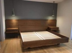 Thiết kế và thi công hoàn thiện giường ngủ tại Quảng Nam
