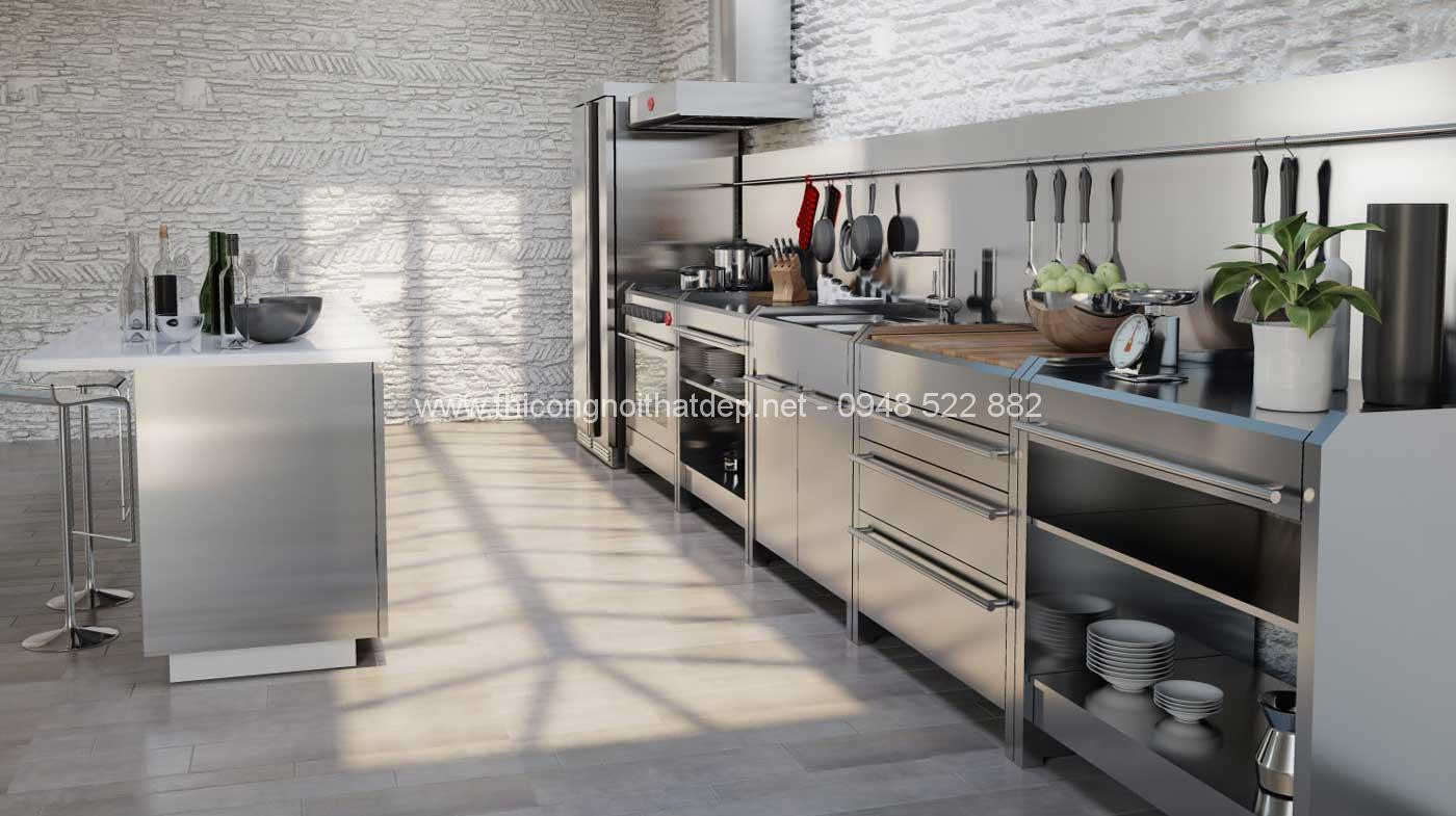 tủ bếp inox đẹp nhất tại hà nội - 8