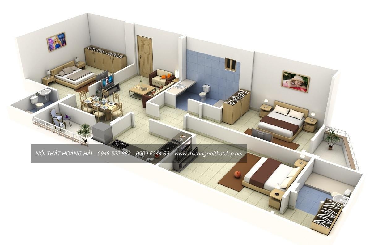 thiết kế nội thất nhà ở