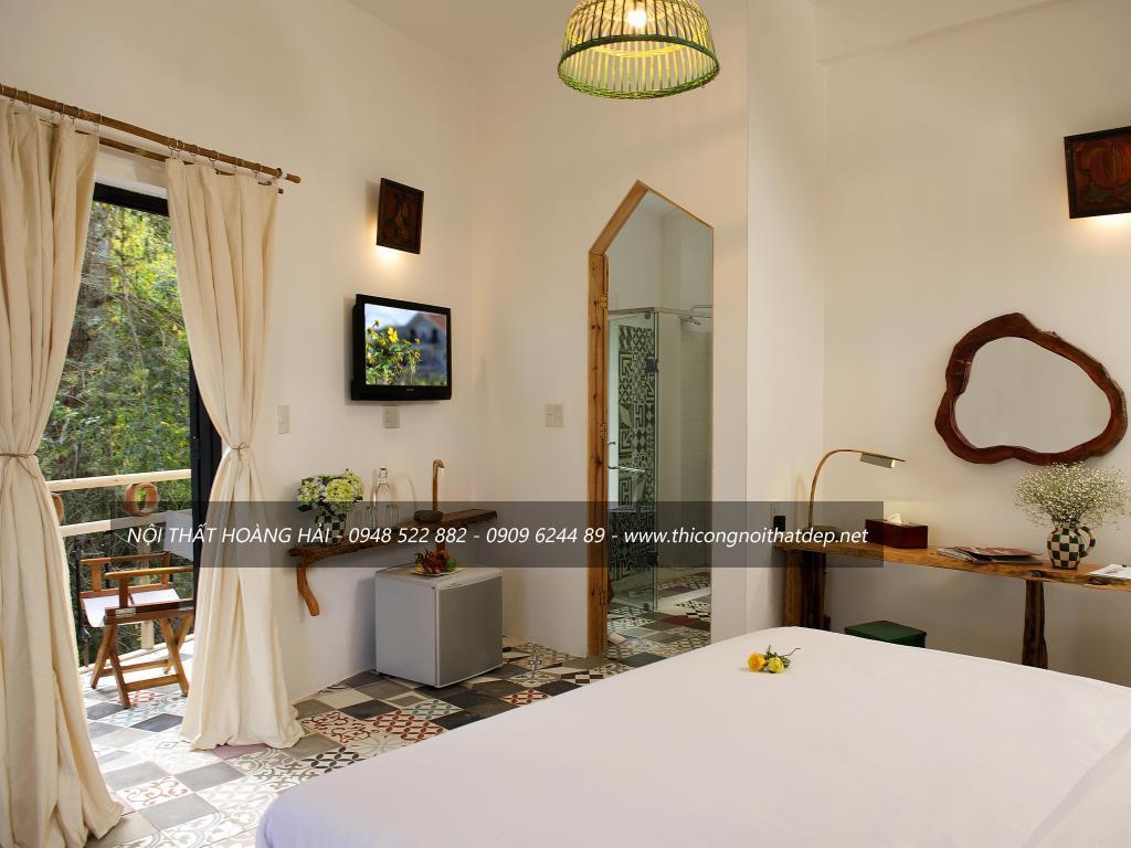 phong cách thiết kế nội thất khách sạn
