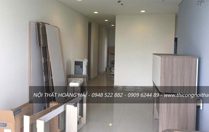Thiết kế và thi công căn hộ chung cư cao cấp Sora Garden