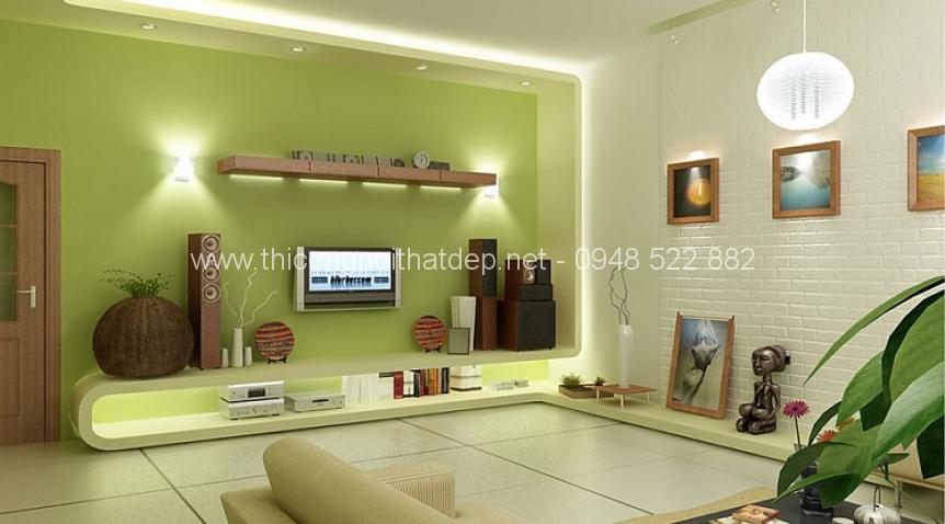 ý nghĩa màu sơn tường trong thiết kế thi công nội thất nhà ở