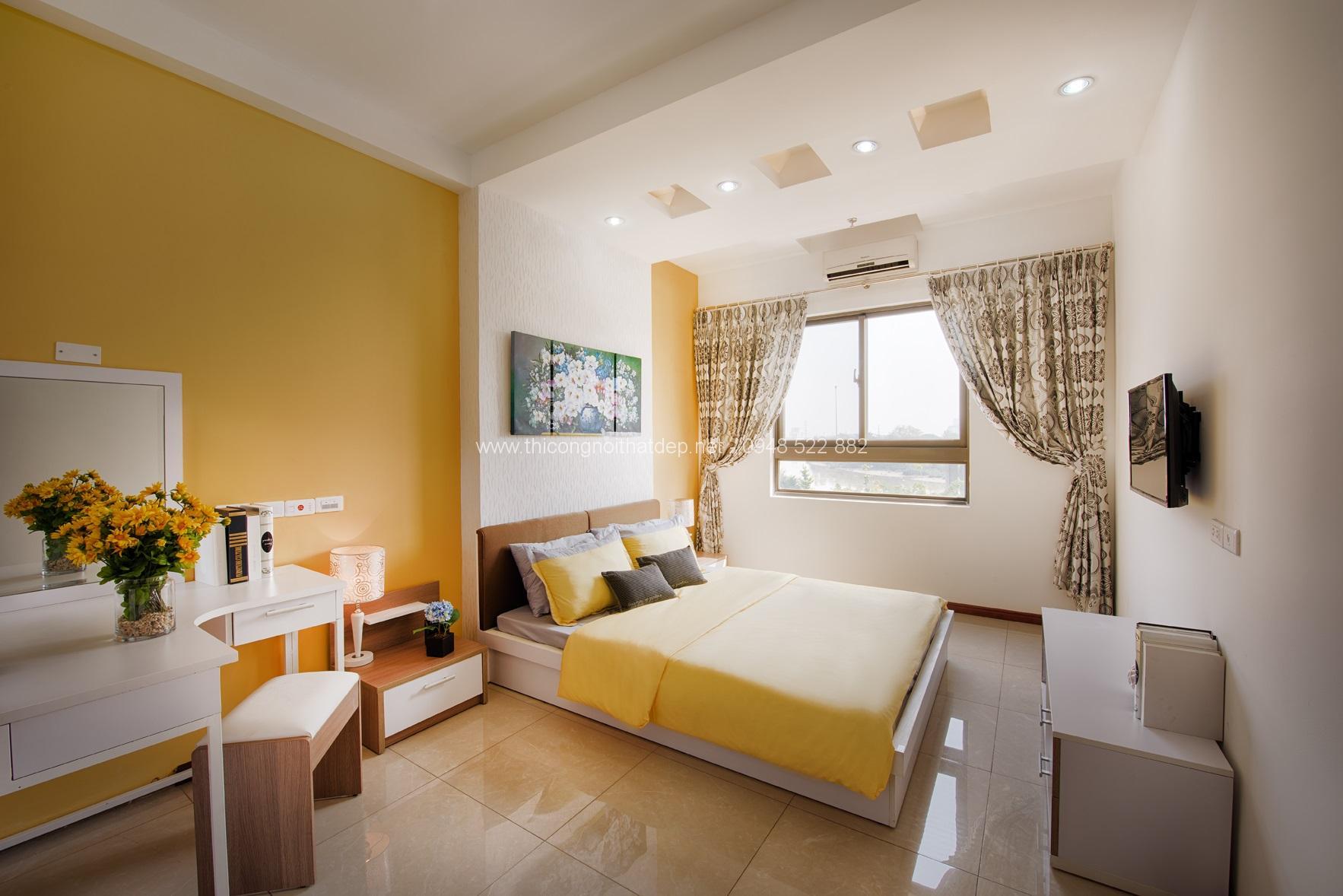 Thiết kế nội thất căn hộ chung cư 60m vuông