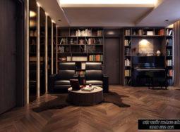Mẫu thiết kế nội thất căn hộ chung cư 220m2 – chị Hằng